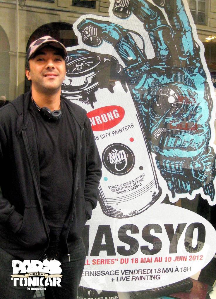 Nassyo // exposition solo at Wrüng store