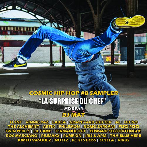 "Cosmic Hip Hop #8 Sampler ""La Surprise du Chef"""
