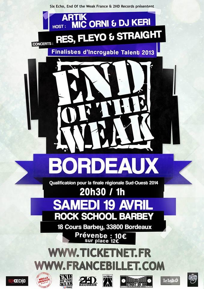 EOW Bordeau 2014
