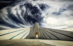 La tour Azadi