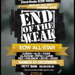 Affiche_End_of_the_Weak_All_Stars_et_Demi-finale_Paris_-_20-12-14