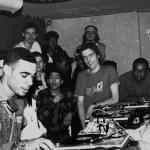 DJ Cash Money (avec notamment Jaïd et DJ Dee Nasty au fond) – Le Globo – Photo © Yoshi Omori