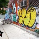 Graffiti à Manhattan