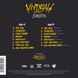 Vinyl Cover Kiydrah HHV839 back cover